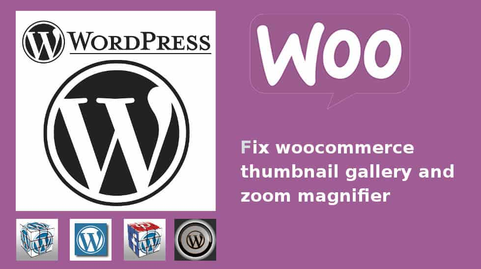 fix woocommerce thumbnail gallery error