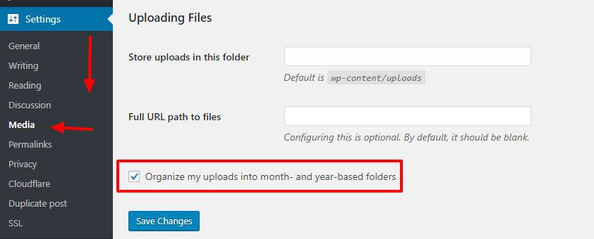 upload folder path