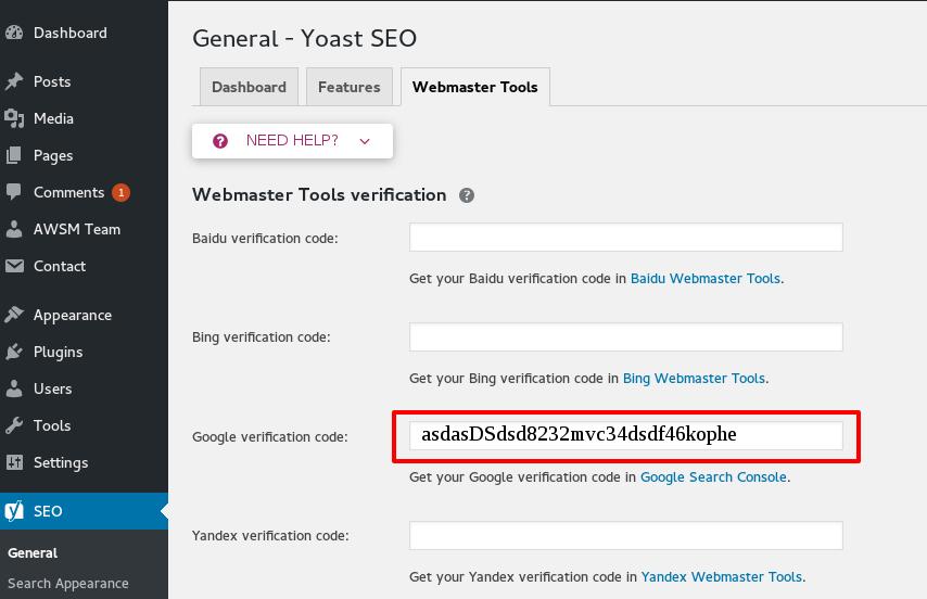 add google verification code