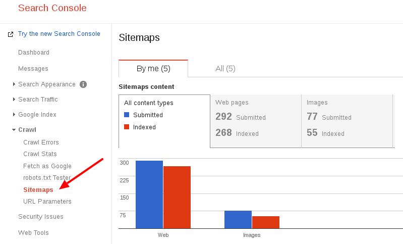 add sitemap option