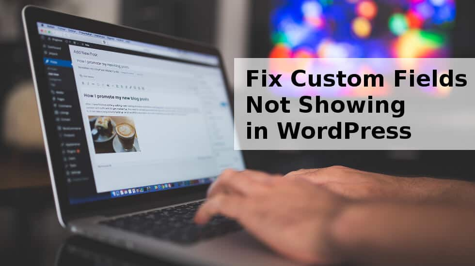Fix Custom Fields Not Showing in WordPress