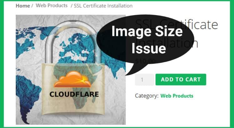 Resize Woocommerce Product Image Size